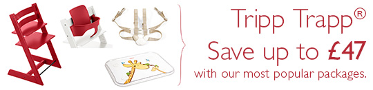Stokke Tripp Trapp Package. Save uip to £87 with our most popular packages.