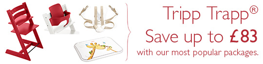 Stokke Tripp Trapp Package. Save up to £83 with our most popular packages.