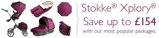 Stokke Xplory - Save up to £154 with our most popular packages