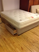 Health Beds Divan with Mattress 150cm x200cm