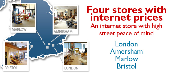 Four stores with Internet Prices