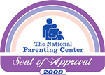 The National Parenting Center's Seal of Approval