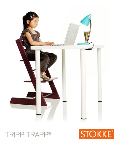 Stokke tripp trapp information back in action for Chaise haute tripp trapp stokke