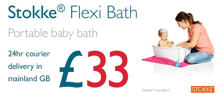 Stokke Flexi Bath Back In Action