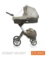 Stokke Xplory Rain Cover for the Carrycot