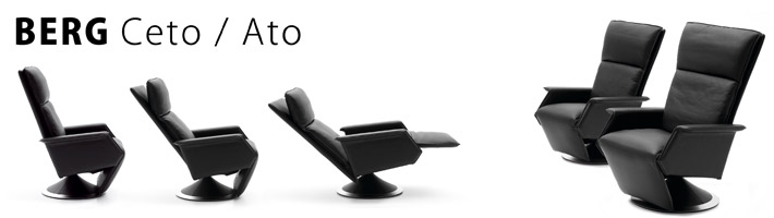 Ceto/Ato Recliner – Classic elegance, timeless design