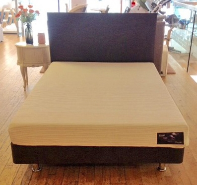 Technogel Mattress with Back in Action Upholstered Divan Base