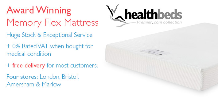Memory Flex Mattresses from Healthbeds