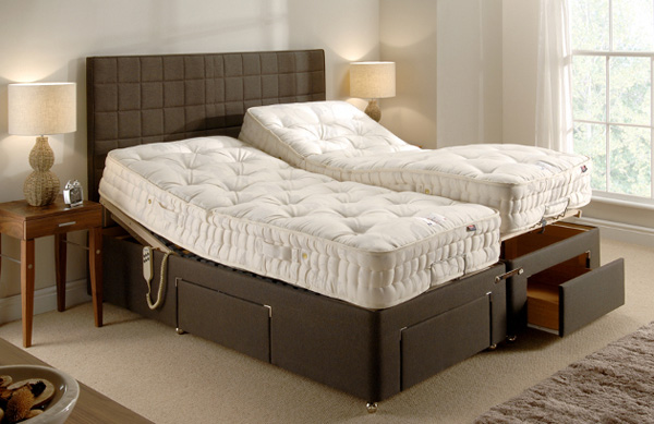 BIA Adjustable Bed - with Large Drawers