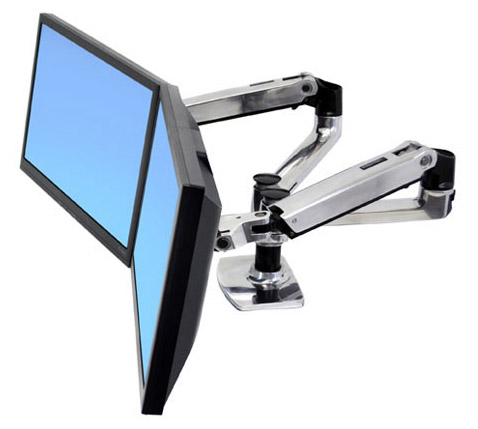 Ergotron Monitor Arm - Dual