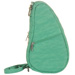 Textured Nylon Baglett - Trop Green