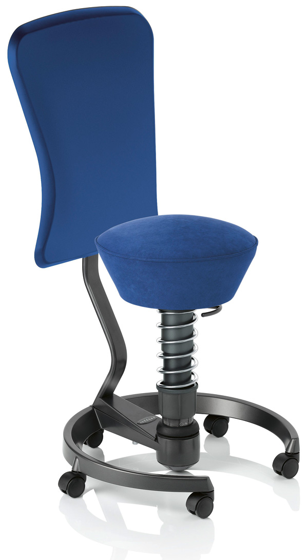 Swopper Work Chair with Dynamic Backrest