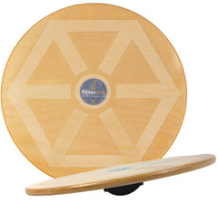 Sissel 20' (50cm) Wooden Wobble Board